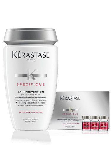 Kerastase Kerastase Specifique Bain Prevention Dökülme Şampuan 250 ml + 10 x 6 Serum Renksiz